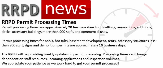 Permit Turn Around Times - COVID