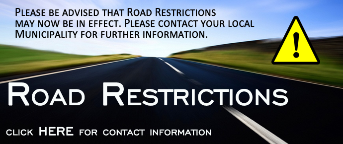 Road Restrictions